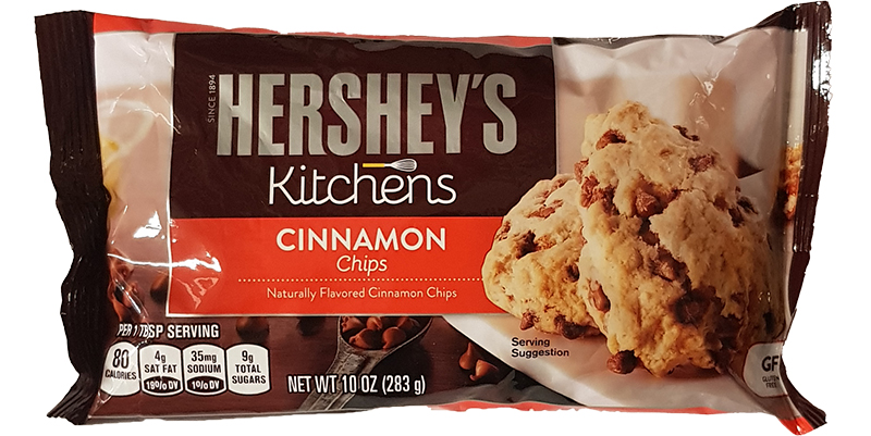 Hershey's Cinnamon Baking Chips 283g