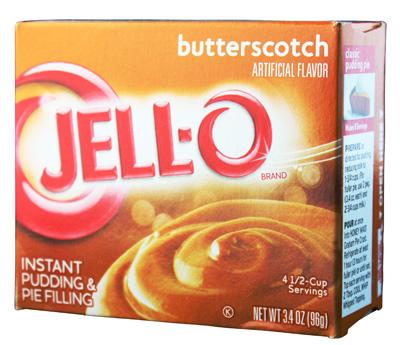 Jell-O- Butterscotch Pudding