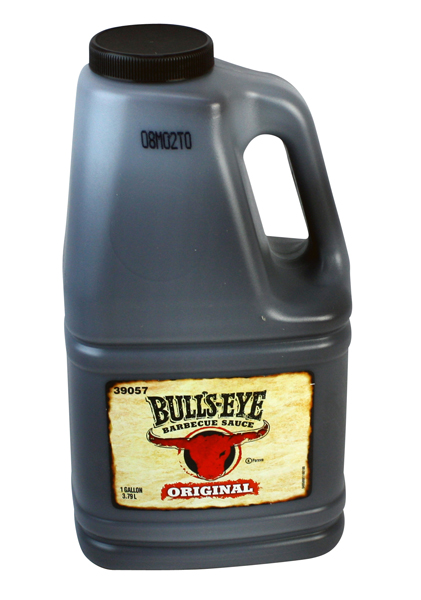 Bulls Eye BBQ Sauce Original Restaurant Size