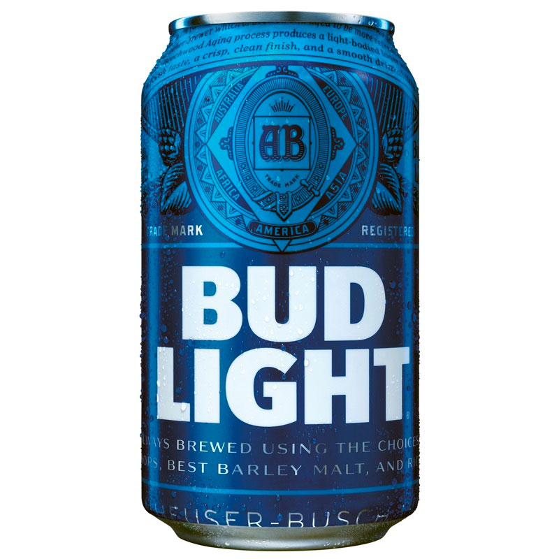 Bud Light  (zzgl. 0,25€ Pfand)