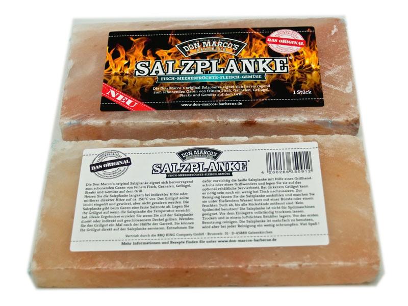 Don Marco's Salzplanke