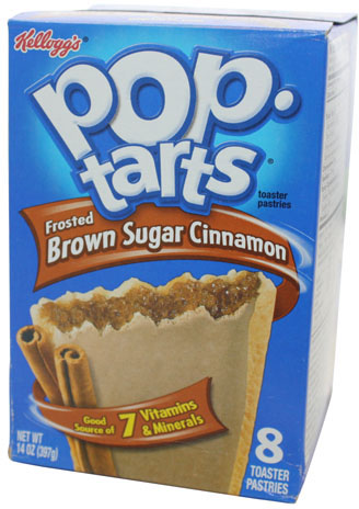 Kelloggs Poptarts Frosted Brown Sugar Cinnamon