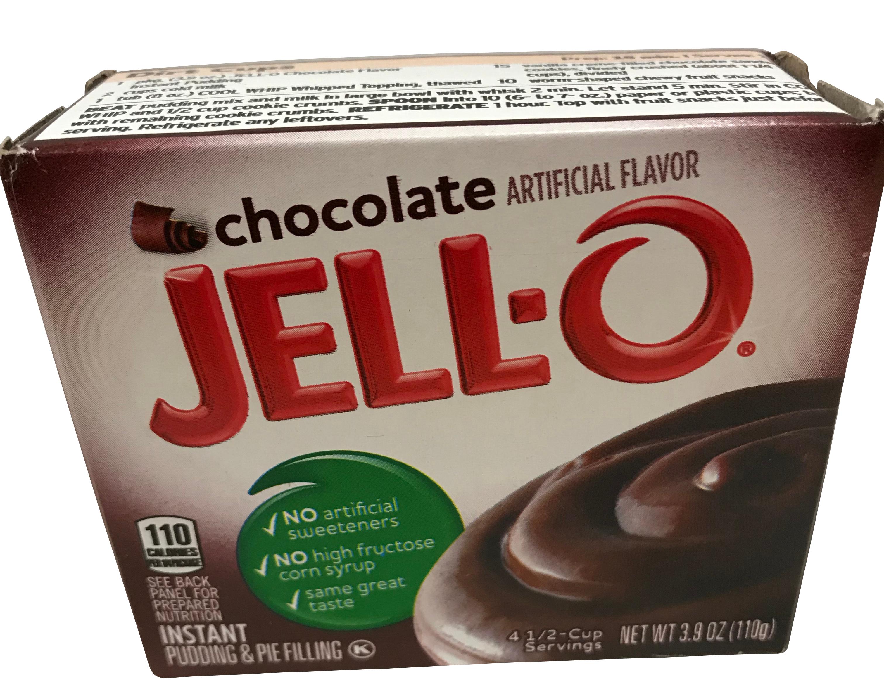 Jell-O- Chocolate Pudding Schokoladengeschmack