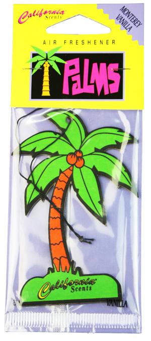 Air Freshener Palms Monterey Vanilla