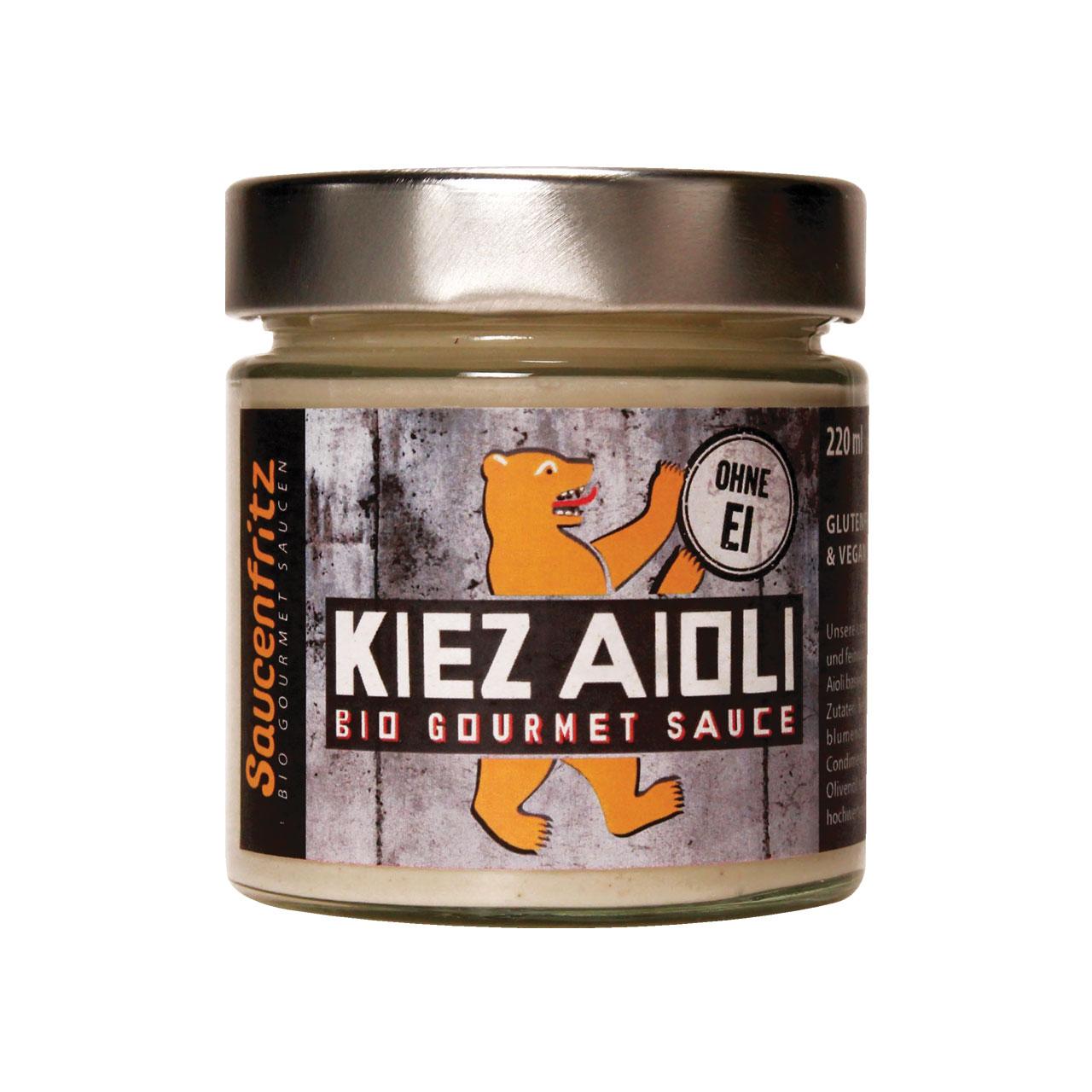 Laux Saucenfritz Kiez Aioli Sauce 185ml