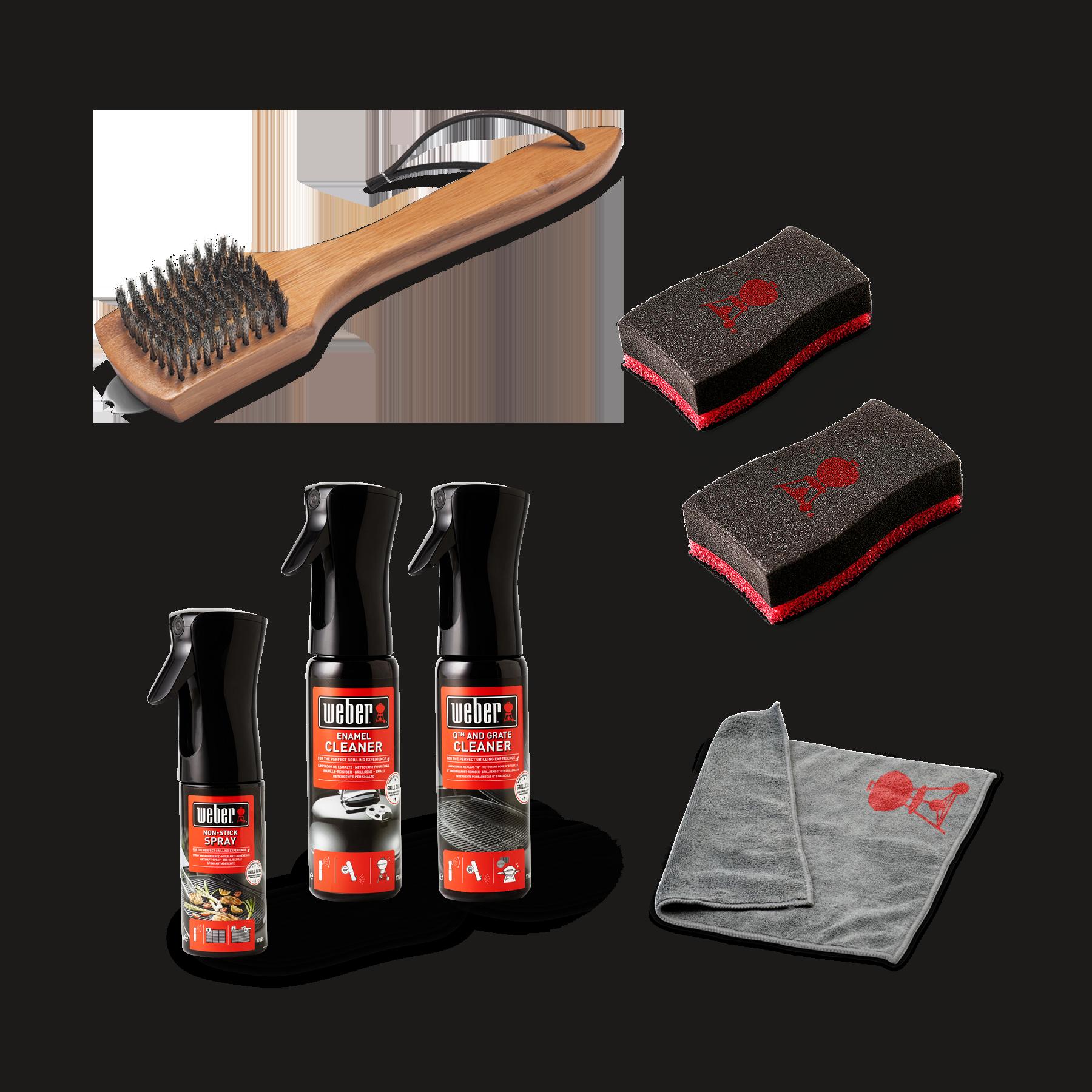 Weber Reinigungs-Set zum Vorteilspreis (Holzkohlegrills)