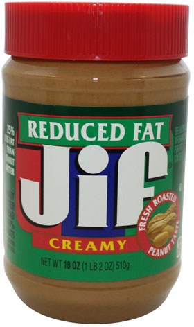 JIF Peanut Butter Creamy Reduced Fat