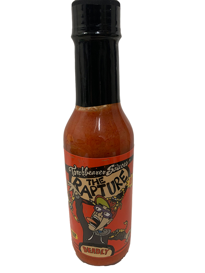 Torchbearer The Rapture Hot Sauce Extreme Spicy Chilli, 142g