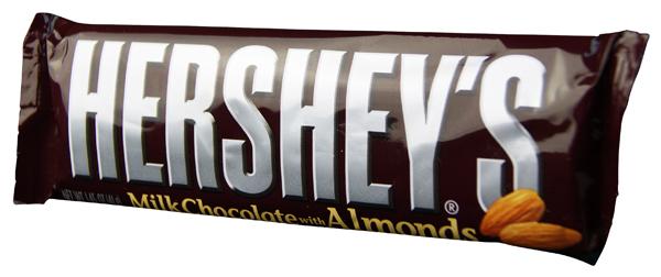 Hershey Milk Chocolate with Almonds