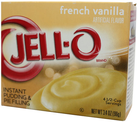 Jell-O- French Vanilla Pudding
