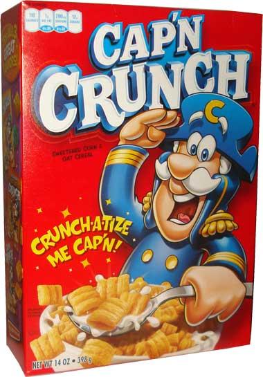 Quaker Capn Crunch 398g