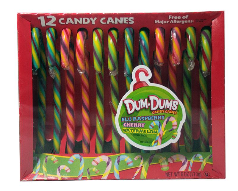 Candy Canes Dum Dums