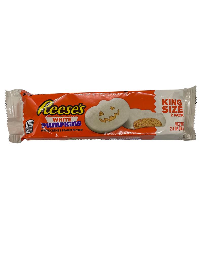 Halloween - Reeses White Peanut Butter Pumpkins (King Size)