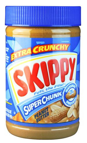 Skippy Erdnussbutter Super Chunk