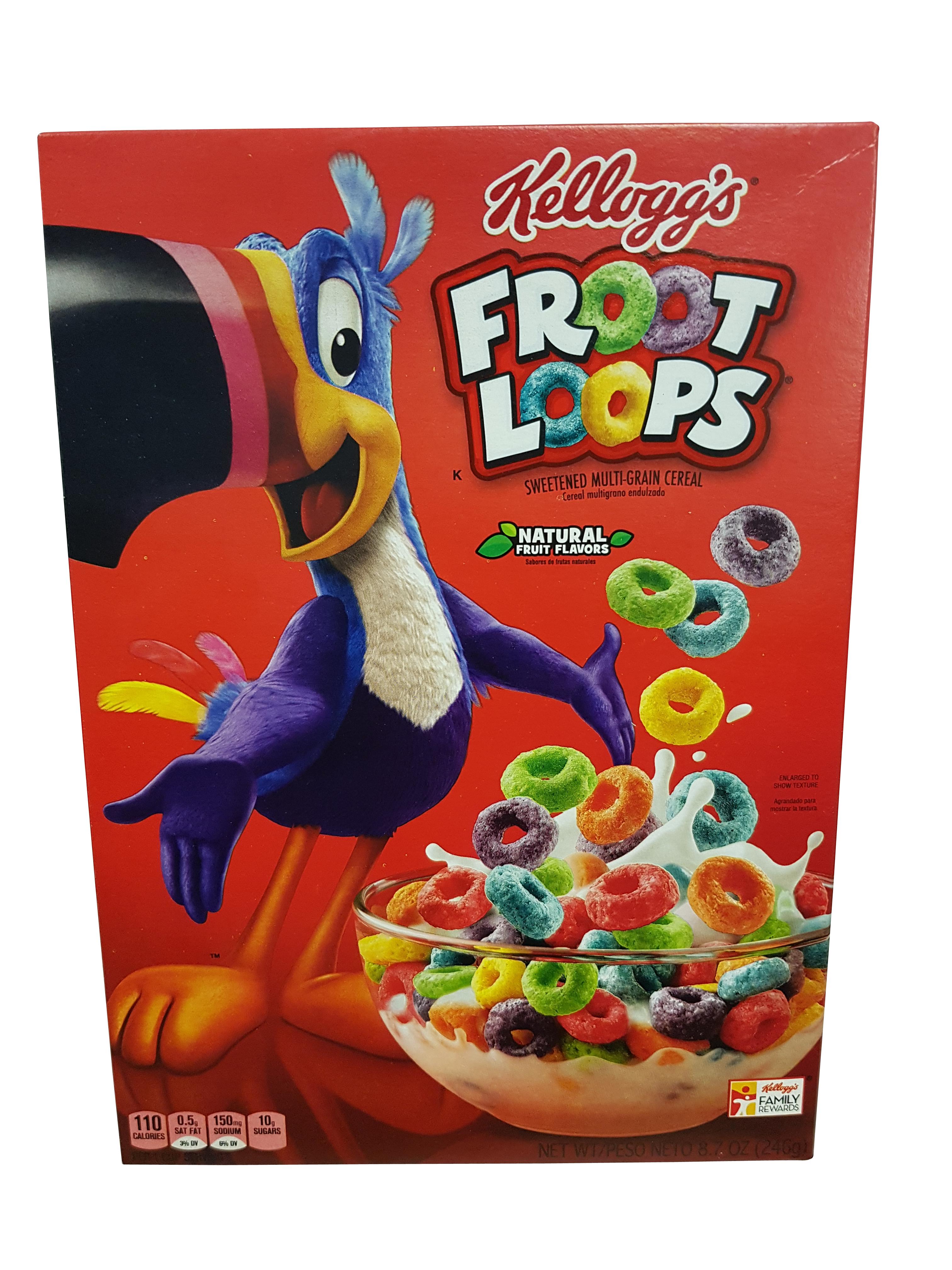 Kelloggs Froot Loops (246g)
