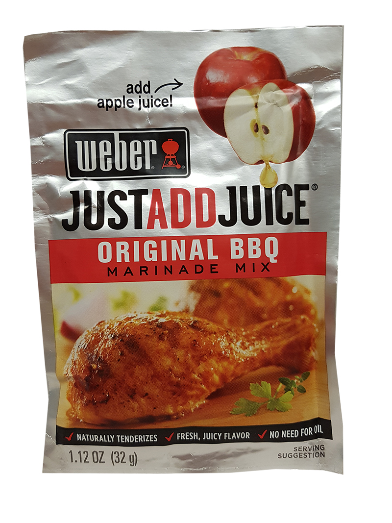 Weber - Just Add Juice - Original BBQ Marinade Mix
