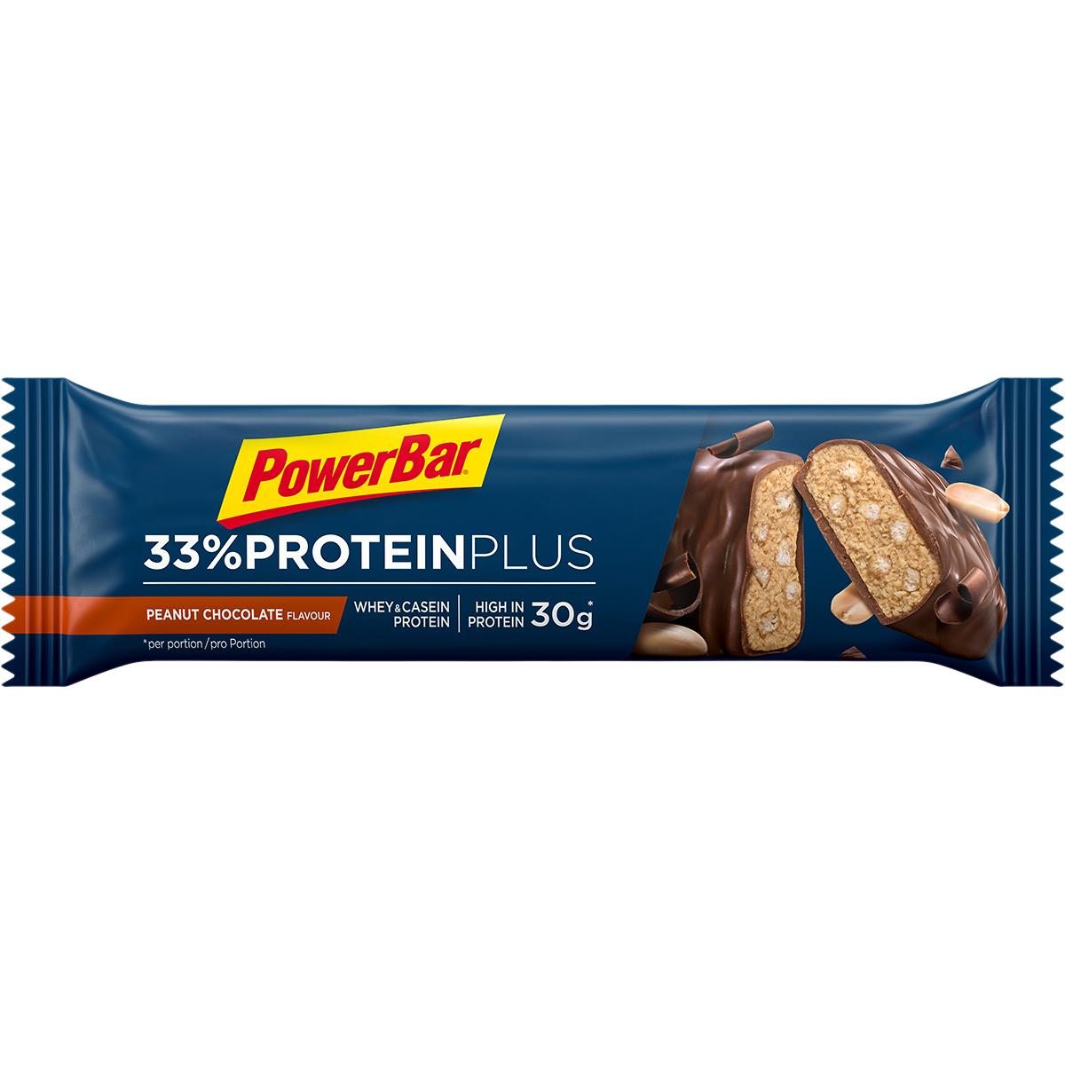 PowerBar 33% Protein Plus Peanut Chocolate