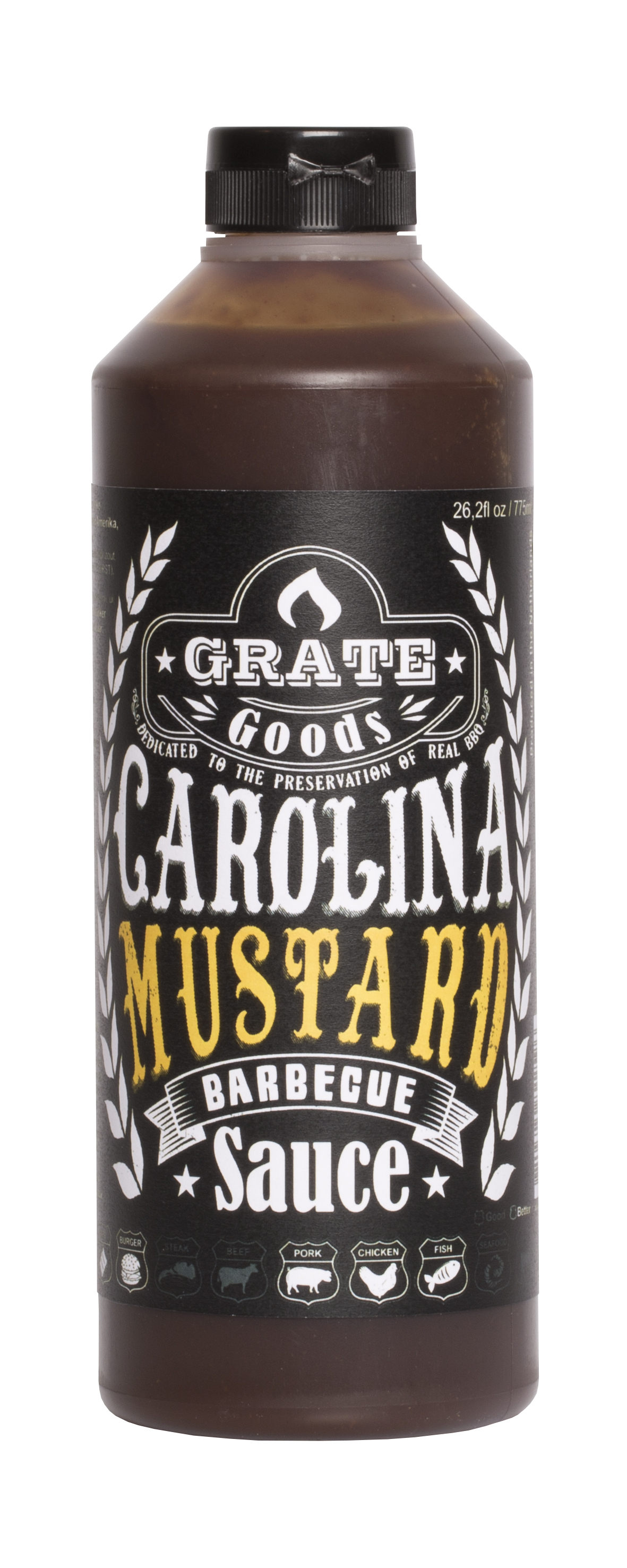 Grate Goods Carolina Mustard BBQ Sauce 775ml