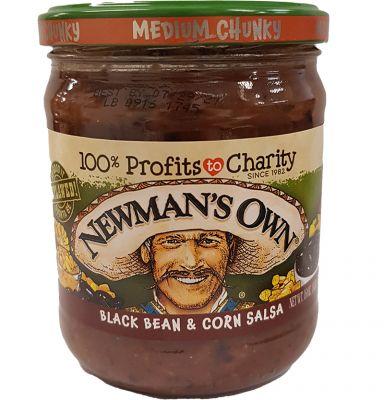 Newman's Own Black Bean & Corn Medium Salsa (MHD 29.07.2021)