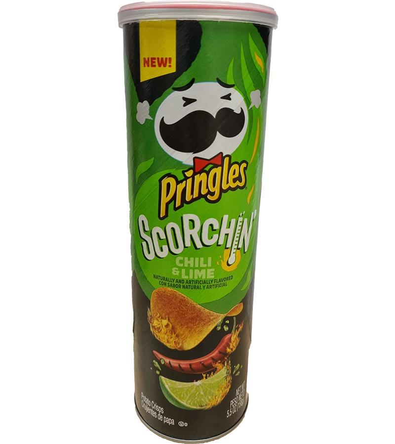 Pringles Chili Lime Extra Hot (158g)