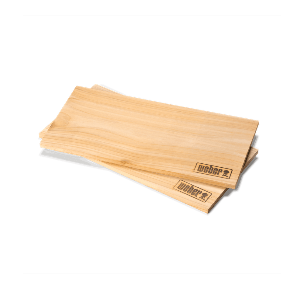 Weber Räucherbretter - Zedernholz (2 Stück / groß)