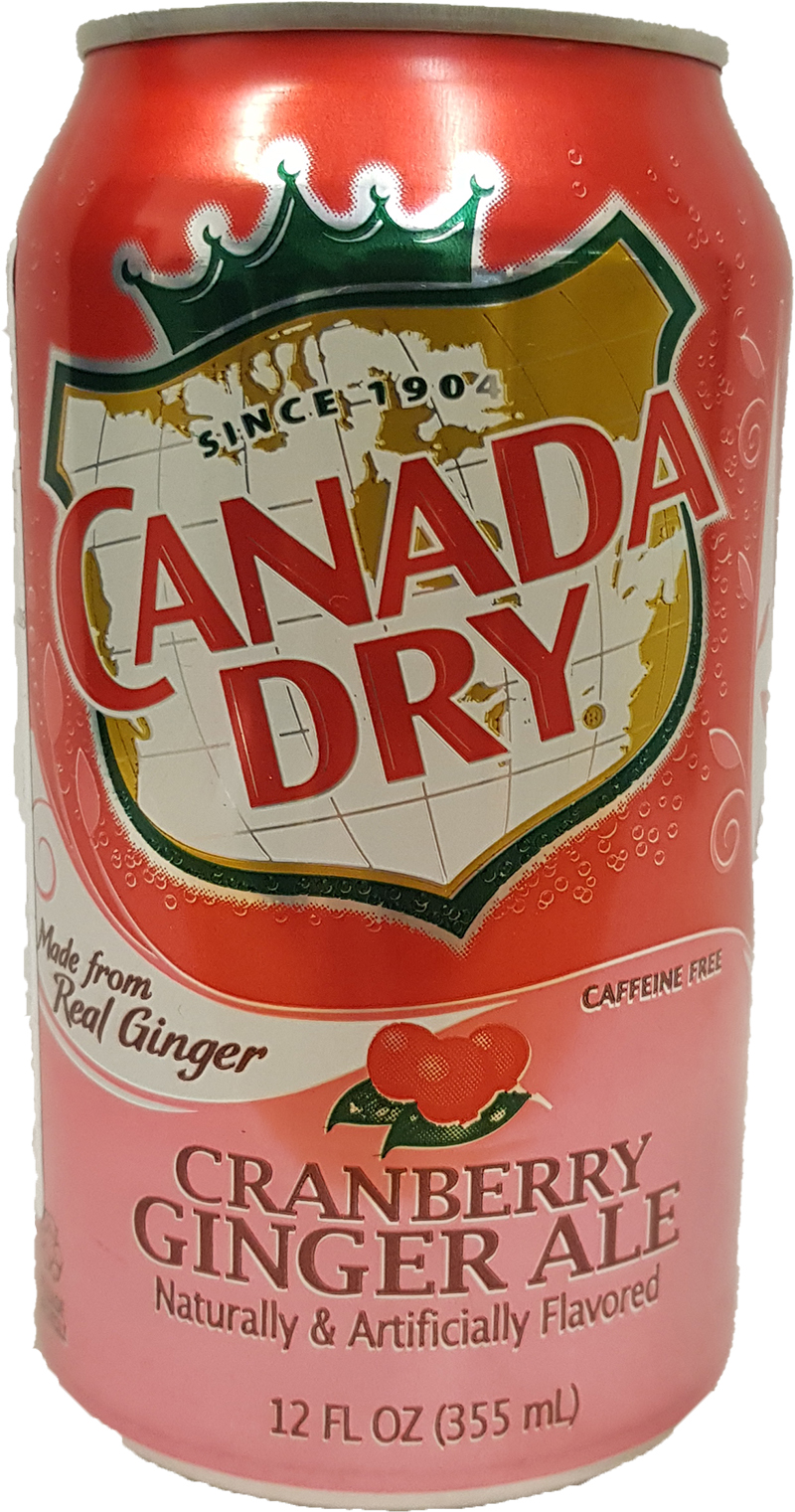 Canada Dry - Cranberry Ginger Ale 355 ml (zzgl. 0,25 EUR Pfand)