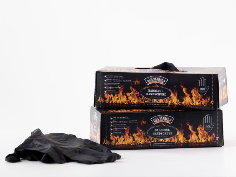 Don Marcos Barbecue Handschuhe L