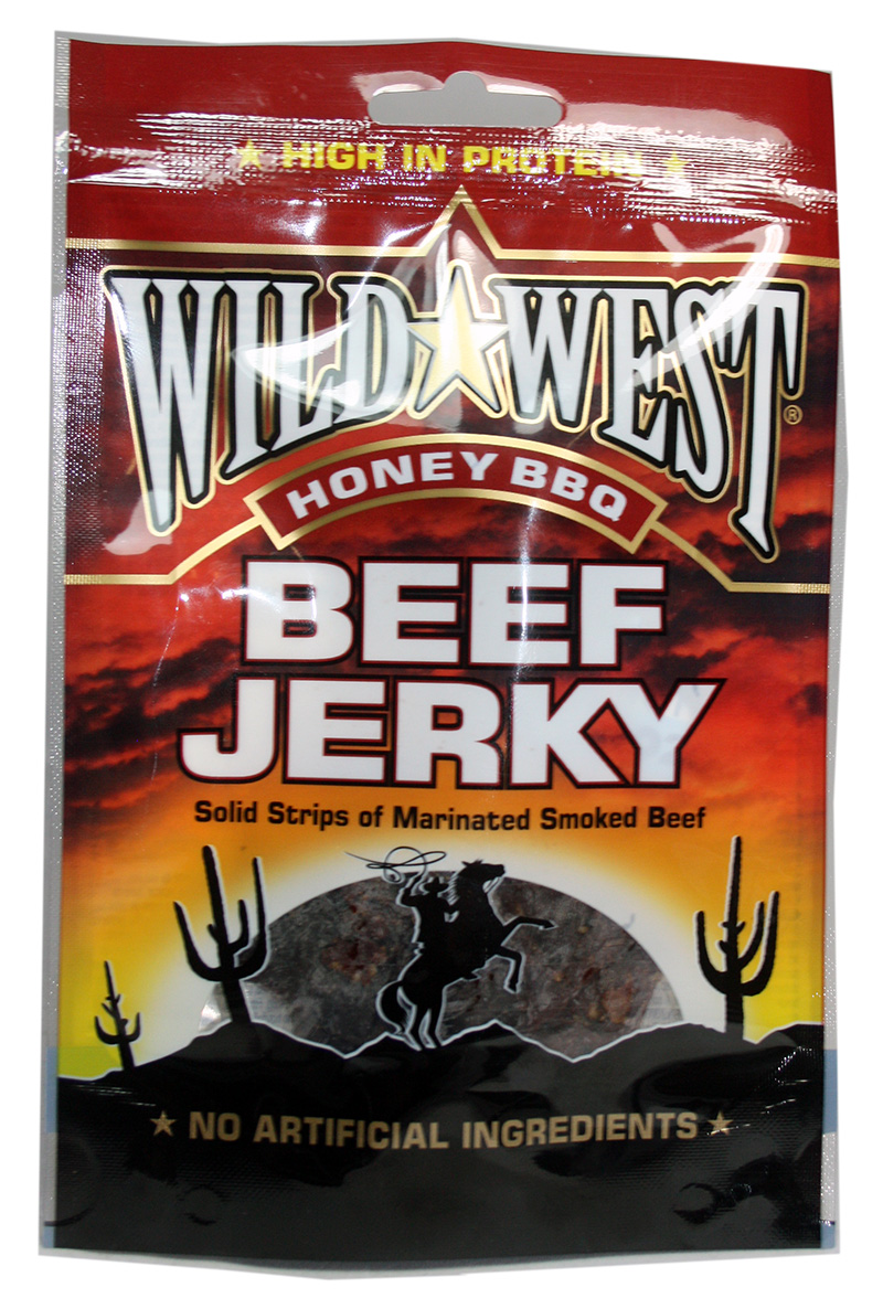 Wild West Beef Jerky Honey BBQ 25 Gramm