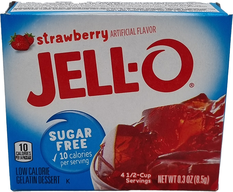 Jell-O Strawberry Sugar Free