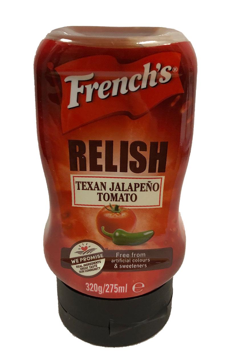 French Jalapeno Tomato Relish