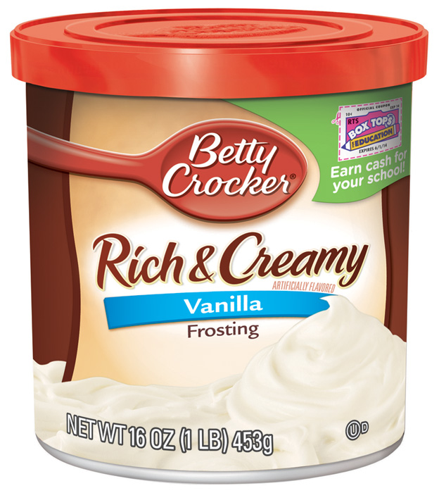Betty Crocker Frostings Vanilla