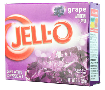Jell-O- Grape Götterspeise Traubengeschmack