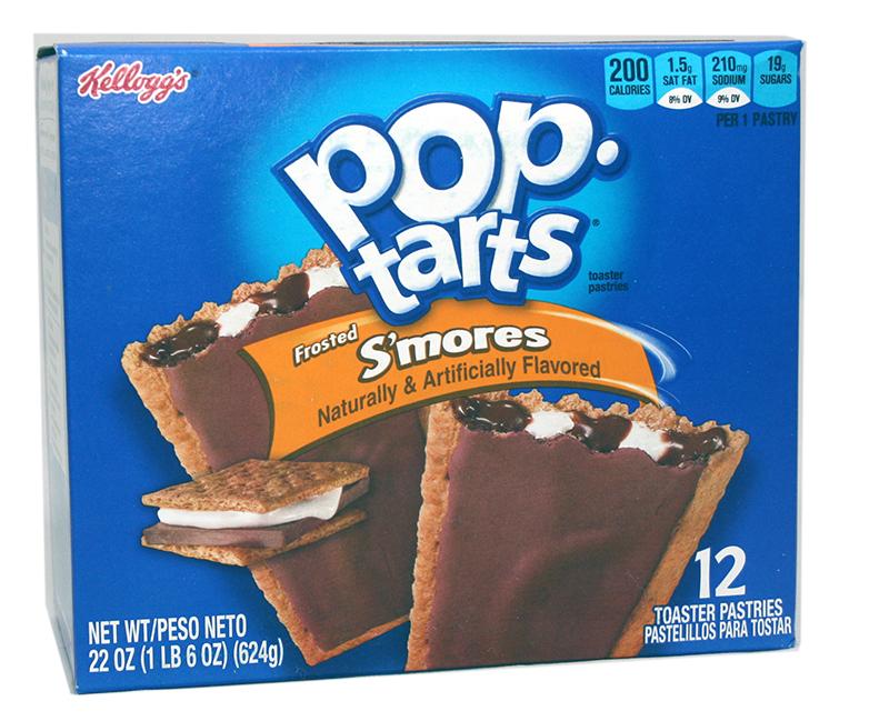 Kelloggs Poptarts Smores Zweierpack
