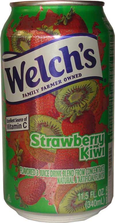 Welch's Strawberry Kiwi Drink 340ml (zzgl. 0,25 EUR Pfand)