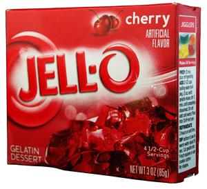 Jell-O- Cherry Götterspeise