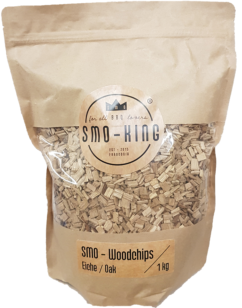 Smo-King Woodchips Eiche 1kg