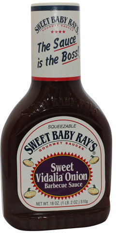 Sweet Baby Rays Sweet Vidalia Onion BBQ Sauce