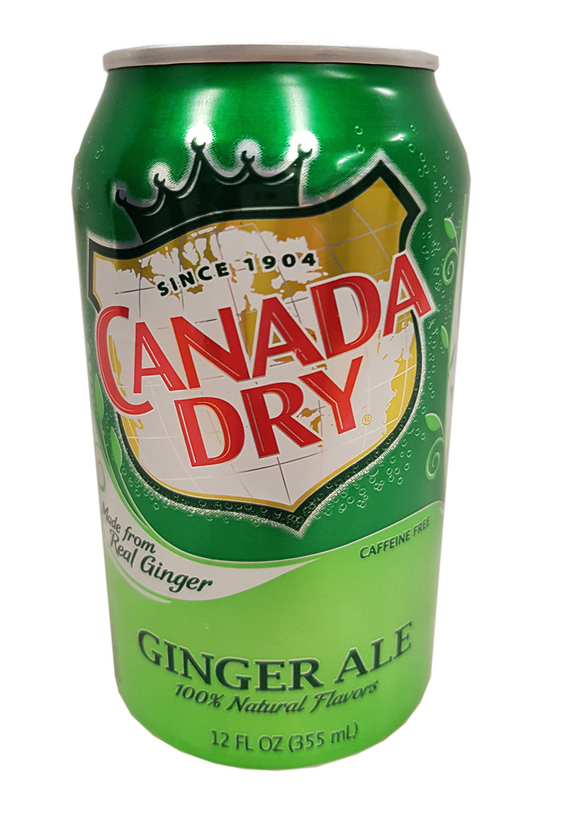 Canada Dry - Ginger Ale 355 ml (zzgl. 0,25 EUR Pfand)