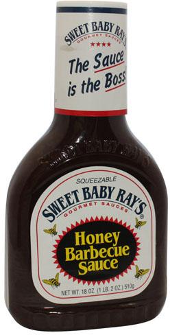 Sweet Baby Rays BBQ Sauce Honey