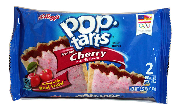Kelloggs Poptarts Frosted Cherry Zweierpack
