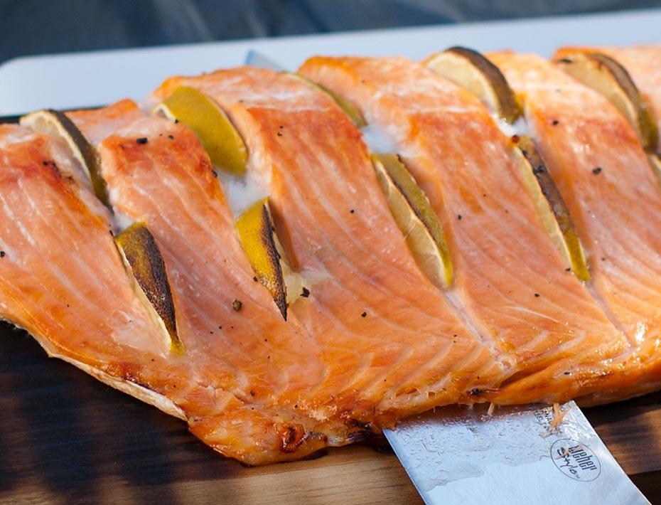 Fisch Grillseminar auf Weber-Grills und Smoker