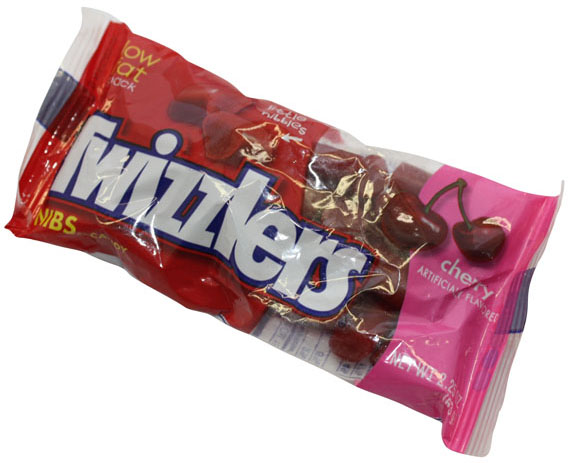 Hershey Twizzlers Cherry Nibs