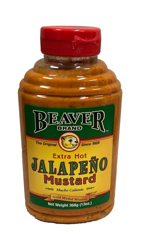 Beaver Brand - Extra Hot Jalapeno Mustard