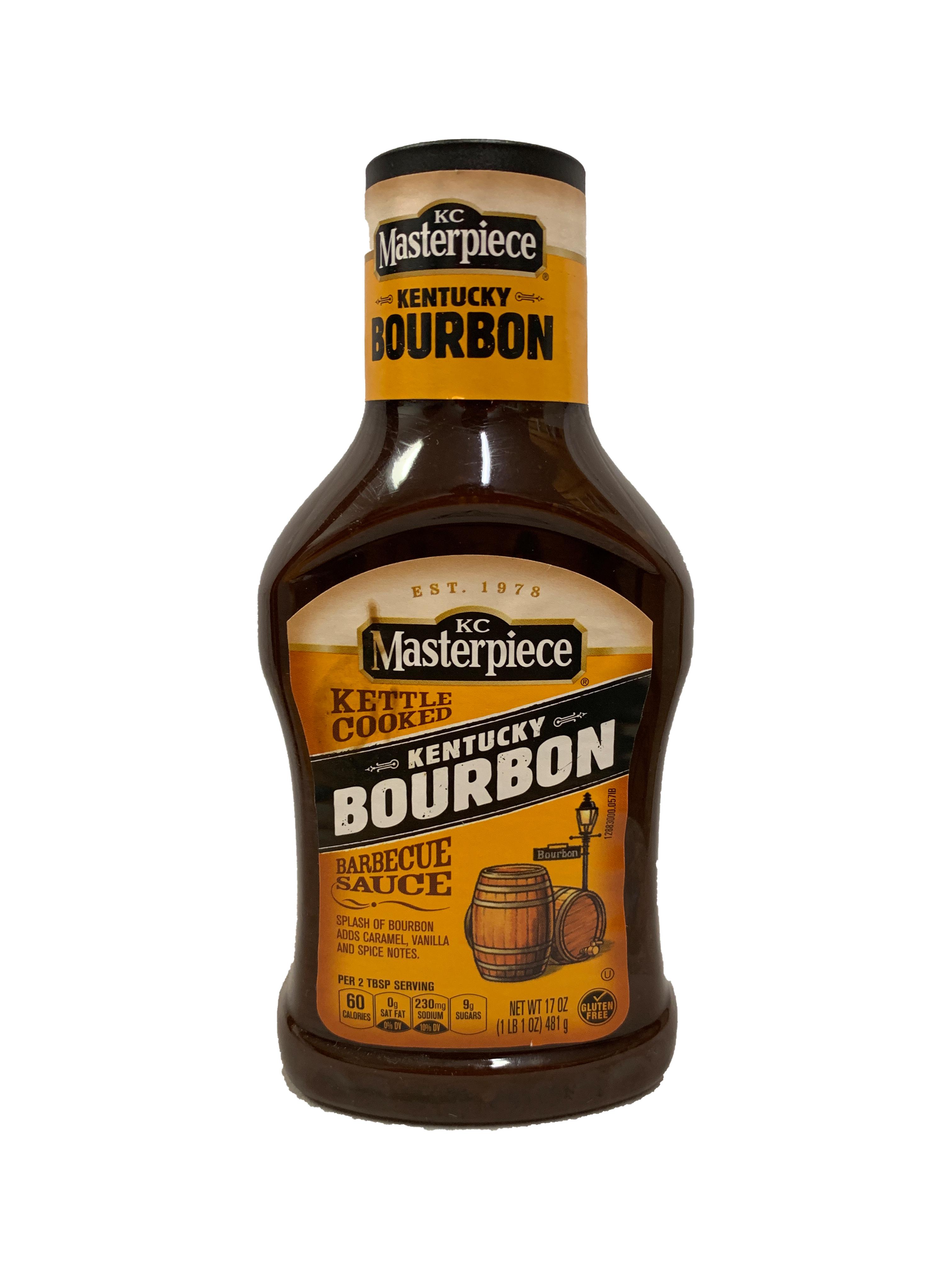 KC Masterpiece Kentucky Bourbon BBQ Sauce (MHD 18.04.2020)