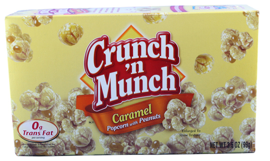 Crunch & Munch Caramel Popcorn with Peanuts