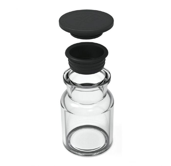 Ankerkraut Korkenglas Streuaufsatz, 3er-Set