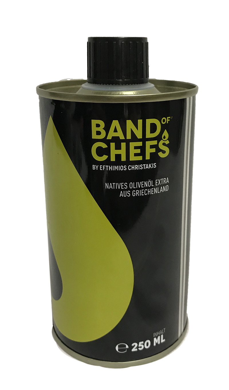 Band of Chefs, natives Olivenöl, 250 ml