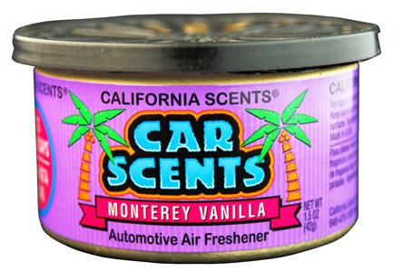 California Scents Car Scents Monterey Vanilla