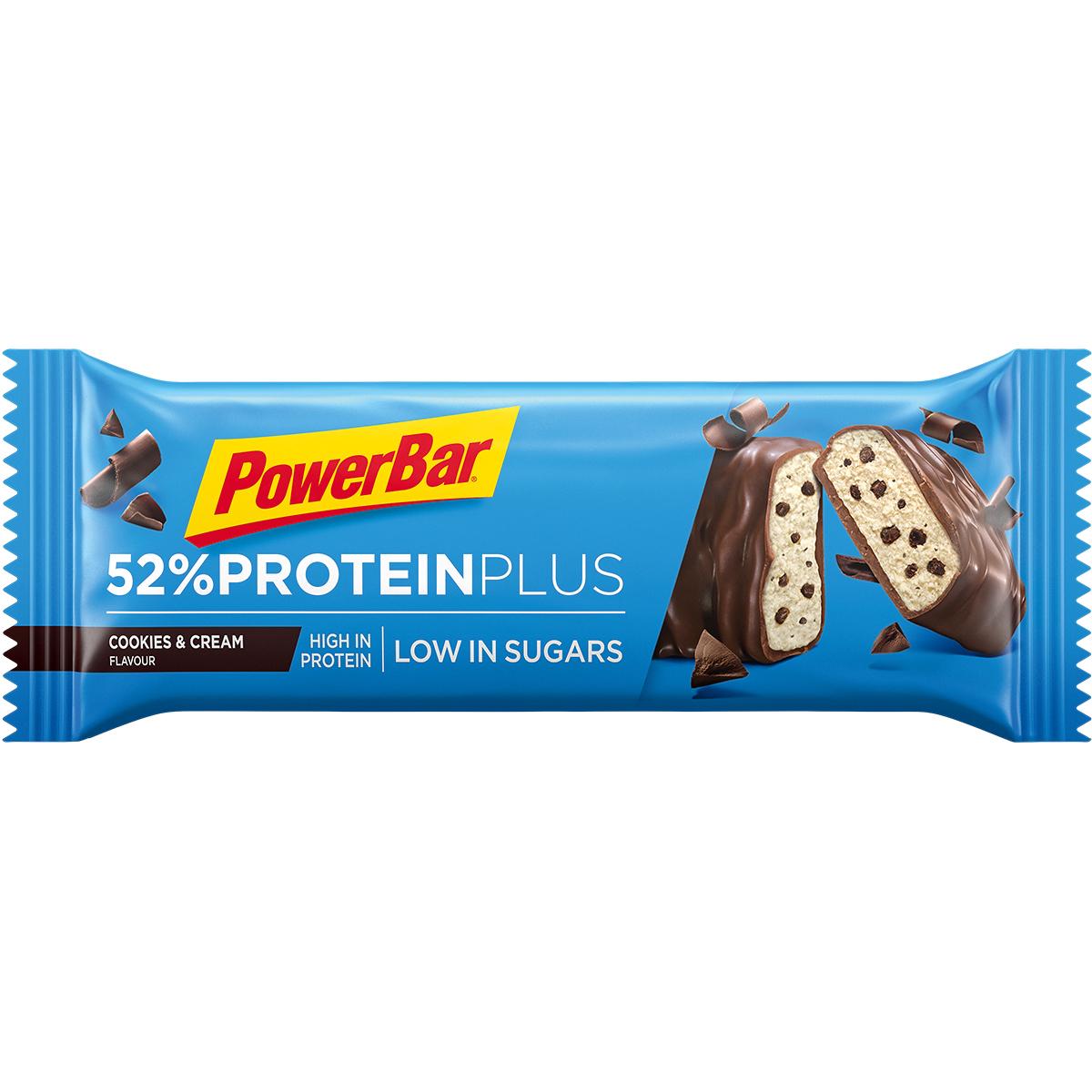 Powerbar 52% Protein Plus Cookies&Cream (50g) (MHD 30.11.20)