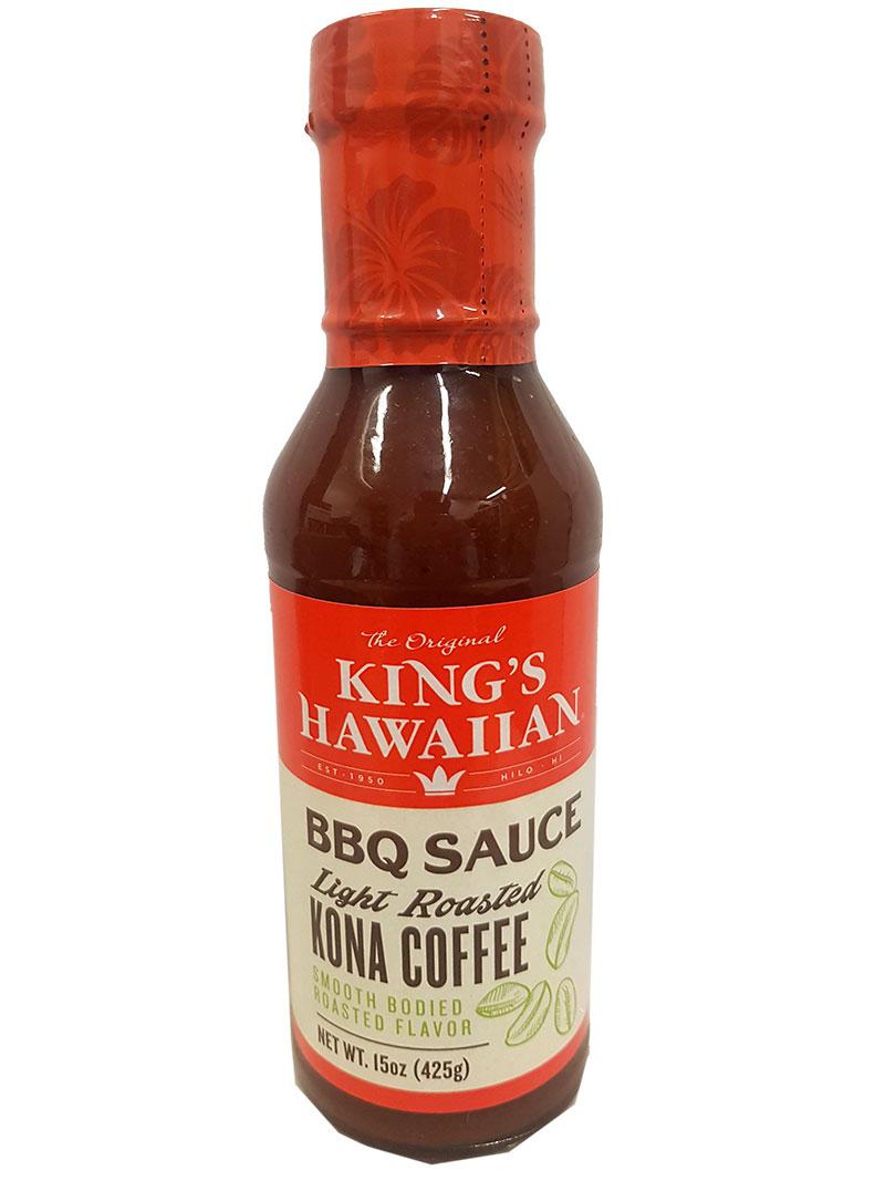 King's Hawaiian BBQ Sauce Kona Coffee